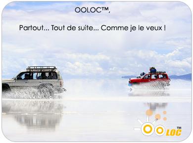Location de voiture en ligne OOLOC™